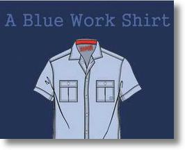 China&#039;s A Blue Work Shirt is Mass Market Retro Fashion