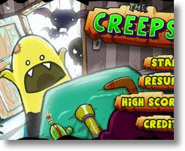 Defeat The Things That Go Bump At Night In The Creeps! iPod Game