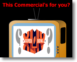 Top Five 2010 Super Bowl XLIV Commercials - Sneak Previews 