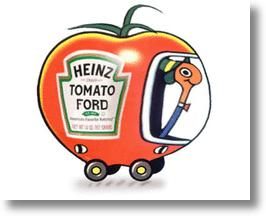 Ford & Heinz Team Up To Put Tomatoes In Tomorrow's Autos