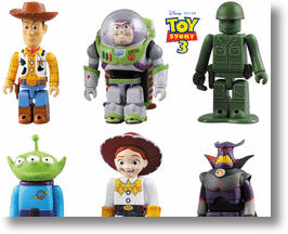 Kubrick Collectible Figurines Celebrate Toy Story 3