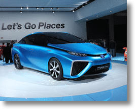 2015 Toyota FCV Hydrogen Fuel Cell Vehicle