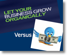 TweetUp Adwords vs Organic Tweets