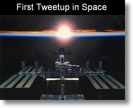 Tweetup in Space