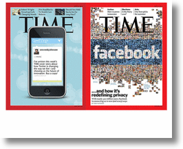 Time Cover - Twitter vs Facebook