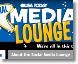 USA Today Social Media Lounge