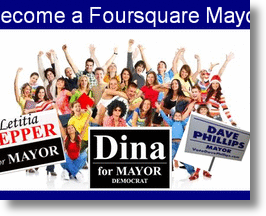Become a Foursquare Mayor