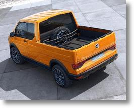 Volkswagen Tristar Concept Pickup Hints At Tomorrow's Transporter