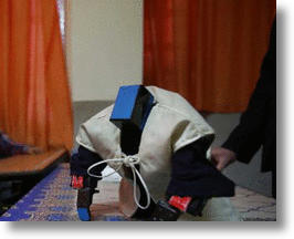 Iranian Teacher Builds A Praying Robot