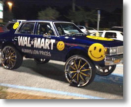 Stylin', Smilin' & Hi-Risin': 10 Donk Cars Of The People Of Walmart