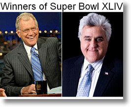 Winners of Super Bowl XLIV