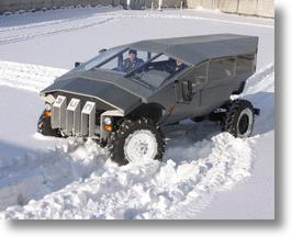 This Bizarre Concept Jeep From ZiL Just Might Be Russia's New Humvee