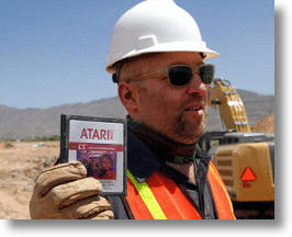 Construction Workers Unearth Atari Games Landfill In New Mexico