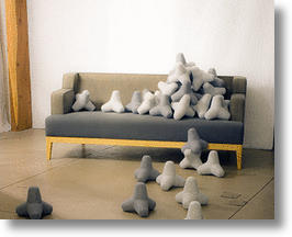 Soft Plushies Modeled After Japanese Tetrapod Beach Blocks