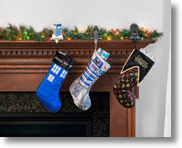 Geek Christmas Stocking