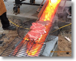 Grilling with Lava