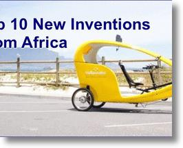 Top 10 New Inventions From Africa