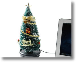 USB Christmas Tree Brings Holiday Cheer to Your Desktop