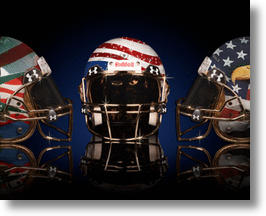 AMORI STEELE America Football Helmet