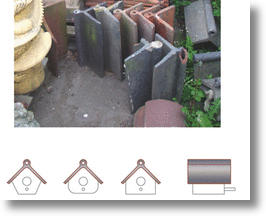 Recycled Roof Tile Birdhouses Not Just For Clay Pigeons