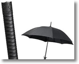 Samurai Sword Handle Umbrella Provides Cutting Edge Rain Protection