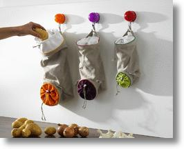 Vegetable Keep Bags by Orka
