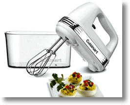 Hand mixers for kitchen use make prep time a breeze