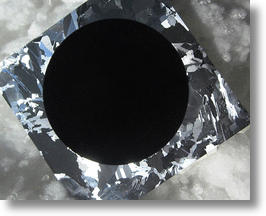 Black silicon absorbs more light than traditional solar cells. Image credit: Aalto University.