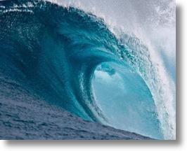 Ocean waves offer a renewable power source.