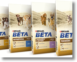 Purina Beta breed specific pet food