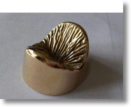 Bronze Anus Sculpture