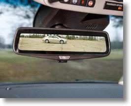 Cadillac Cures Blind Spots With A Live Streaming Video Rearview Mirror