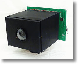 The pixels of this camera not only measure light, but also convert it to electrical power. Image from Columbia's Computer Vision Laboratory.