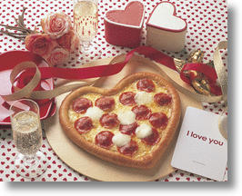 Domino's Pizza Japan Caters To Food Lovers With Happy Valentine Pizza
