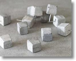 Cement Push Pins Stick With Stone, Are Anything But Tacky