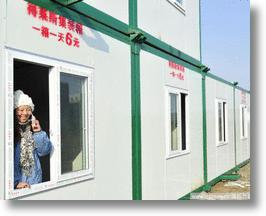 Chinese Container Homes Rent For A Dollar A Day