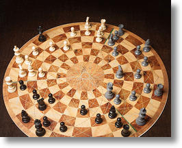 Three Player Circular Chess