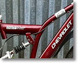 My Other Bicycle Is A Chevrolet... Wait, What??