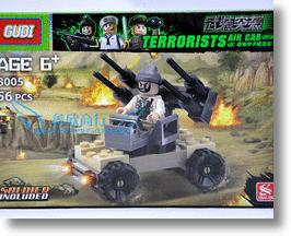 Terrorists Air Car Faux-LEGO Set Turns Evildoers Into Blockheads