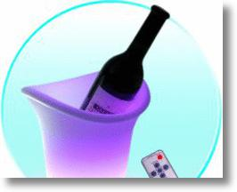 Remote Control LED Color Changing Ice Bucket for Light Drinkers