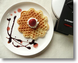Cloer Model 1621 Waffle Maker Appeals to Your Heart with a Love-ly Design