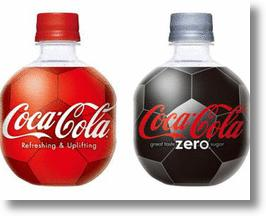 Coca-Cola Football Bottles Kick Off Soccer's World Cup