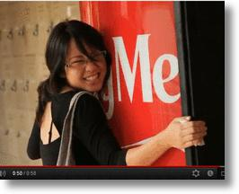 Singapore Coke Machines Give Out Cold Drinks for Warm Hugs