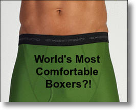 Ex Officio Travel  Briefs Most Comfortable Boxers