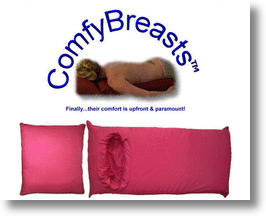 Comfy Breasts Body Pillow