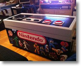 A Super Controller For A Super Console: The Giant NES Coffee Table