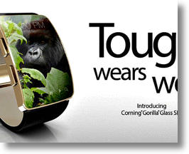 Corning's Gorilla Glass SR+ (image via Corning Facebook)