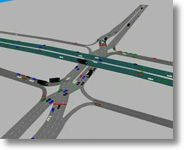 Diverging Diamond Interchange Keeps Traffic Moving Quickly