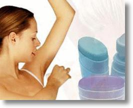 Underarm deodorants
