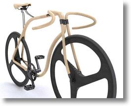 Bentwood Bicycle Evokes The Classic Thonet Cafe Chair